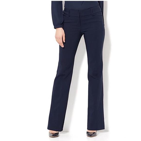 New York & Company Pants - Ny & Co blue bootcut pants sz 8